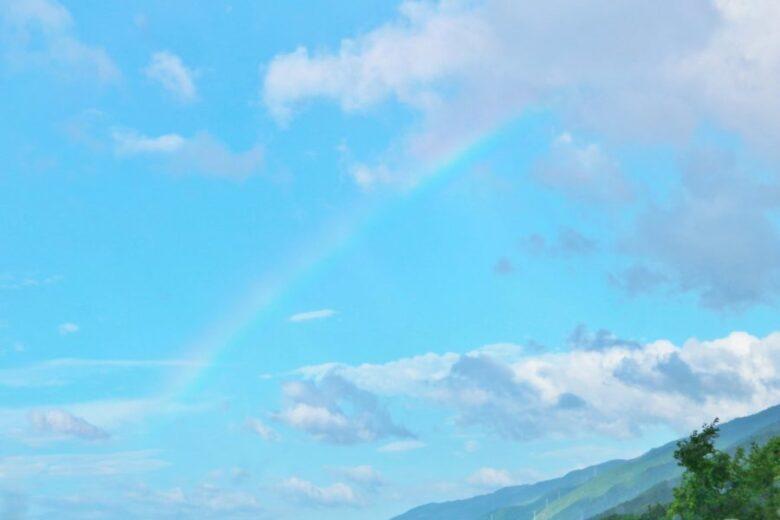 ガラスドームのペットメモリアルサンキャッチャー・虹の橋